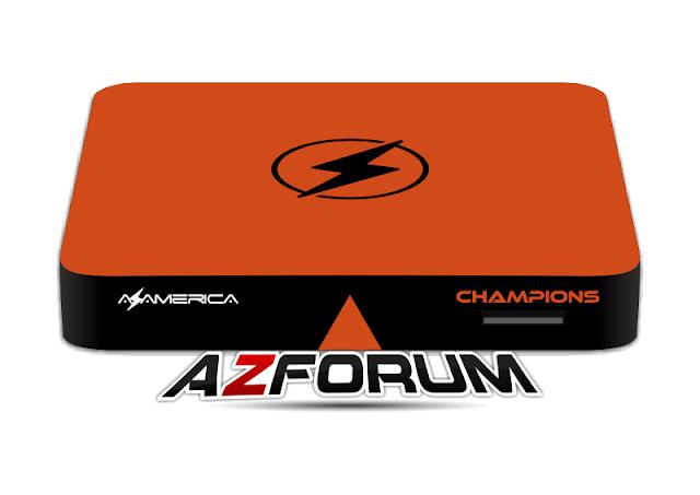 Atualização Azamerica Champions Streaming - 19/06/2019