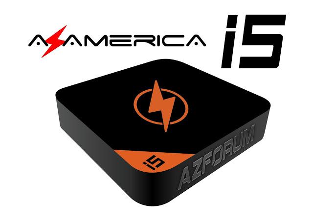 Atualização Azamerica i5 Streaming - 17/06/2019