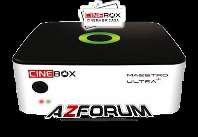 Atualização Cinebox Maestro Ultra + Plus V1.52.0 - 21/06/2019