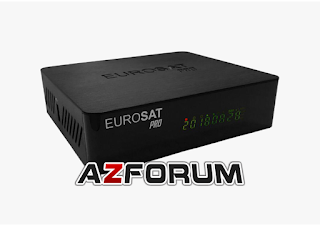 Primeira Atualização Eurosat Pro V1.05 - 13/06/2019