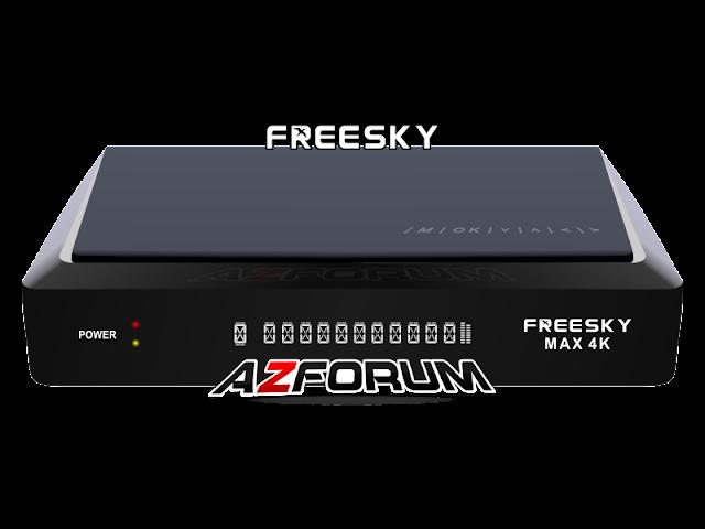 Atualização Freesky Max 4K Android 3 Tuner V3.5.1 - 22/06/2019