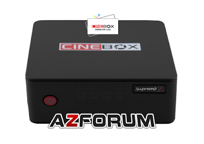 Atualização Cinebox Supremo Z V1.1 - 20/06/2019