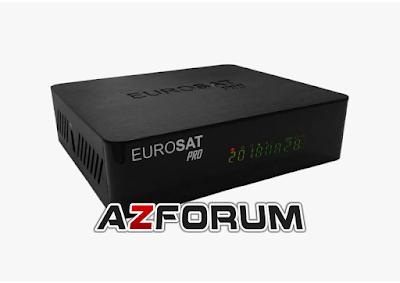 Atualização Eurosat Pro V1.10 - 04/07/2019