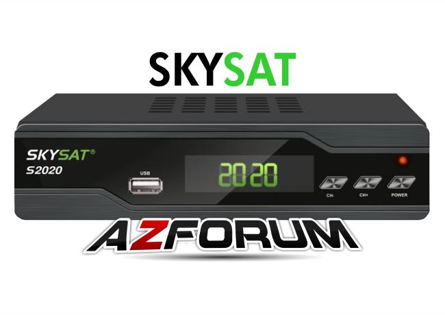 Atualização Skysat S2020 V2.855 - 04/07/2019