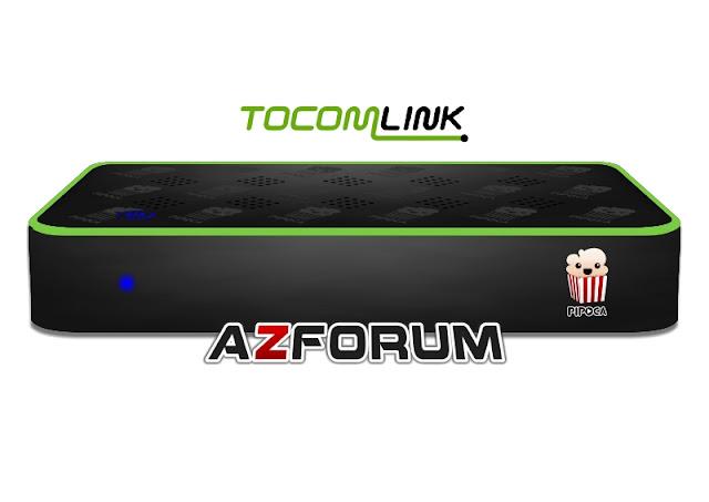 Primeira Atualização Tocomlink Pipoca HD V1.33 - 04/07/2019