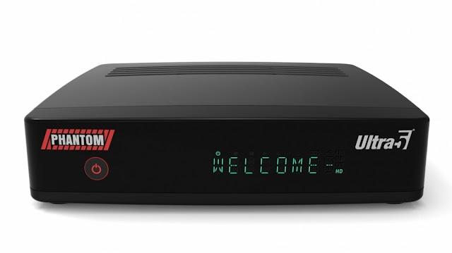 Atualização Phantom Ultra 5 HD V1.47 - 12/11/2019