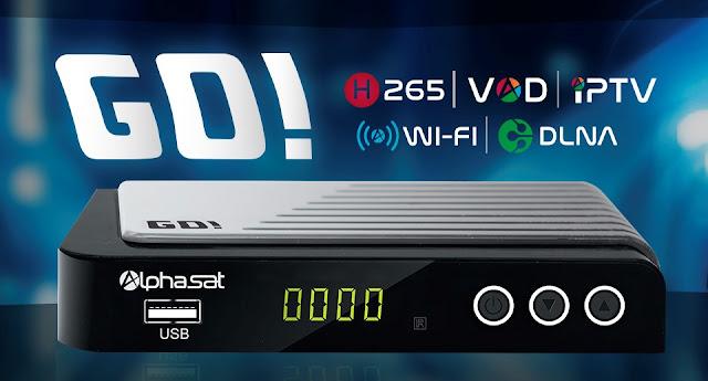 Atualização Alphasat GO V1.3.7 - 11/11/2019
