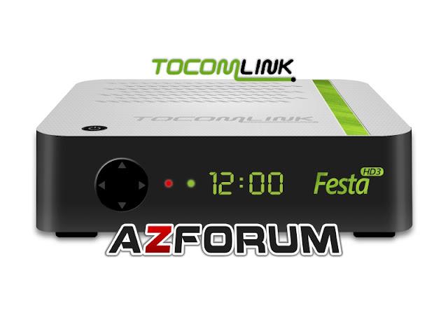 Atualização Tocomlink Festa HD 3 V1.04 - 02/12/2019