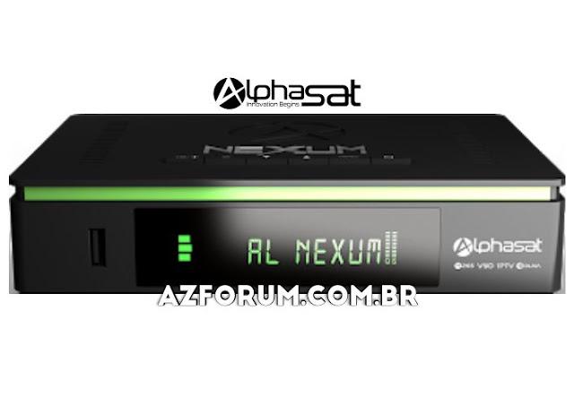 Atualização Alphasat Nexum V12.06.27.S75 - 26/06/2020