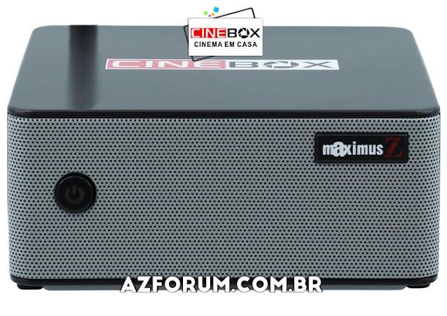 Atualização Cinebox Maximus Z - 26/06/2020