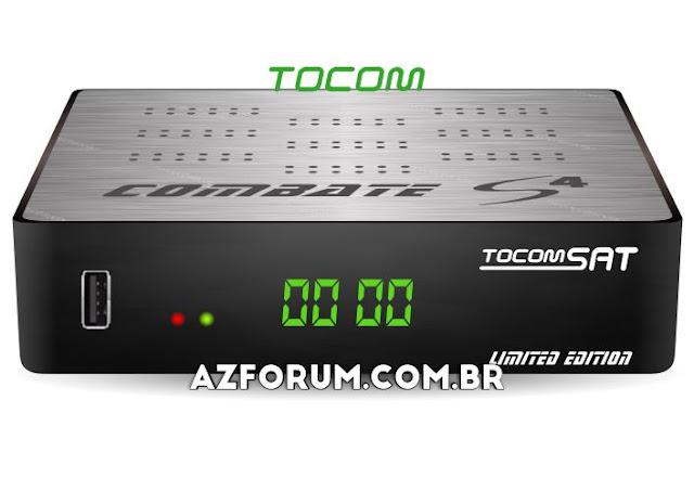 Atualização Tocomsat Combate S 4 V1.008 - 25/06/2020