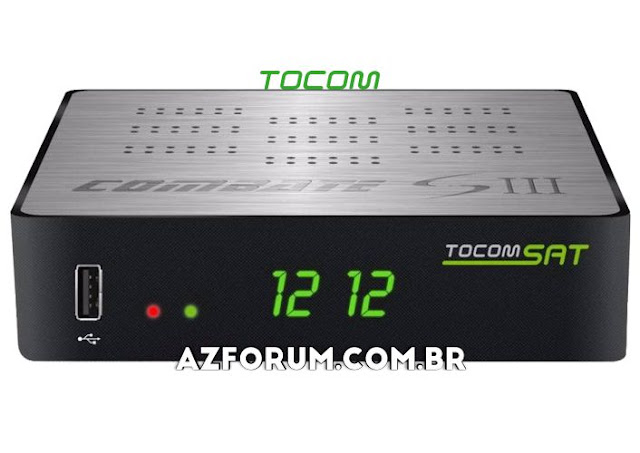 Atualização Tocomsat Combate S 3 V1.17 - 25/06/2020