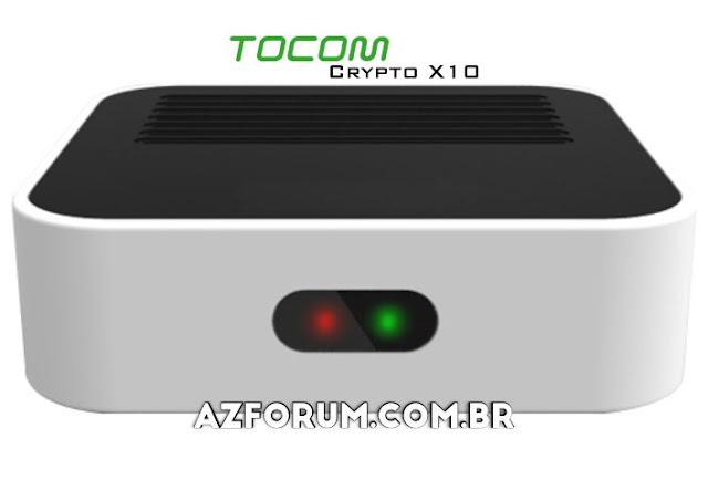 Atualização Tocomlink Crypto X10 V1.23 - 23/06/2020