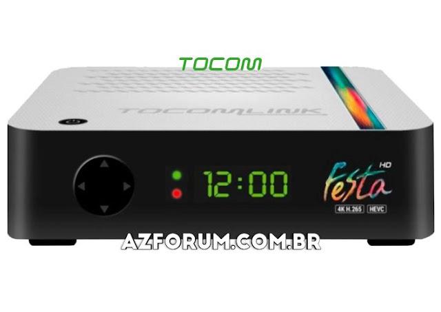 Atualização Tocomlink Festa HD V1.80 - 25/06/2020