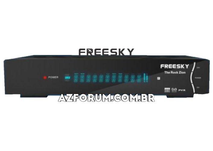 Atualização Freesky The Rock Zion V1.30 - 26/06/2020