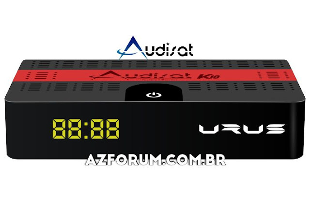 Atualização Audisat K10 V.2.0.53 - 24/06/2020