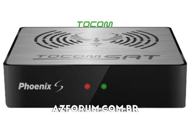 Atualização Tocomsat Phoenix S V1.34 - 25/06/2020