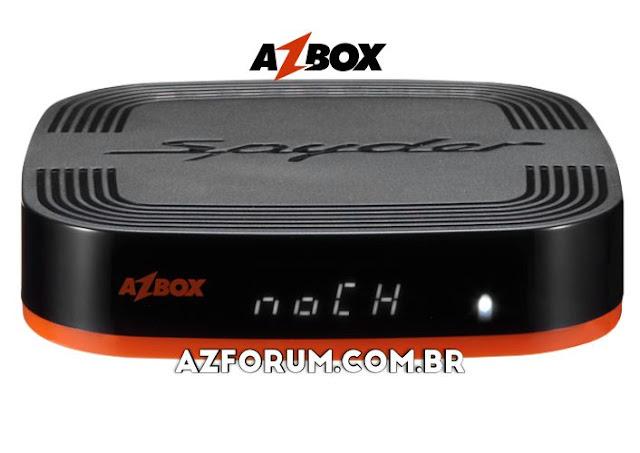 Atualização Azbox Spyder V1.015 - 25/06/2020