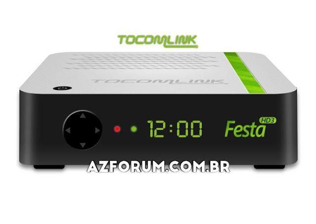 Atualização Tocomlink Festa HD 3 V1.09 - 25/06/2020