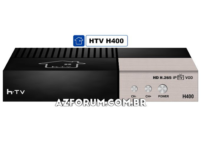 Atualização HTV H400 V262 - 27/06/2020