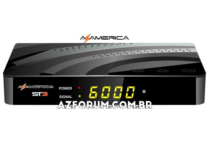 Atualização Azamerica ST3 V1.09.21985 - 27/07/2020