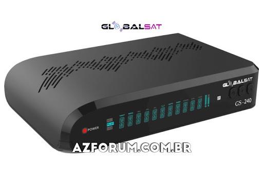 Atualização Globalsat GS 240 V2.67 - 10/07/2020