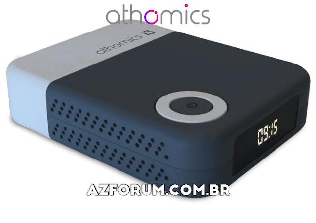 Atualização Athomics i3 V1.5.7 - 20/07/2020