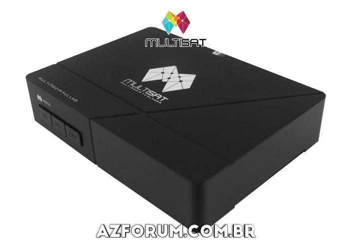Primeira Atualização Multisat M250 - 06/07/2020