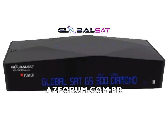 Atualização Globalsat GS 300 Diamond V4.20 - 29/07/2020