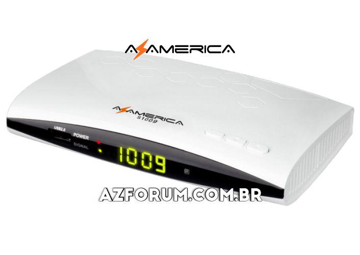 Atualização Azamerica S1009 HD V2.56 - 26/08/2020