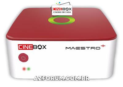 Atualização Cinebox Maestro + Plus V1.60.4 - 13/08/2020
