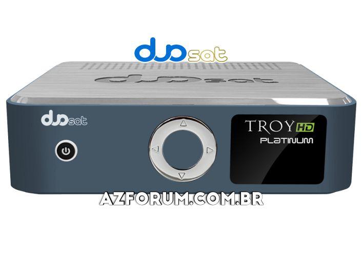 Atualização BETA Duosat Troy HD Platinum V1.1.0 - 12/08/2020