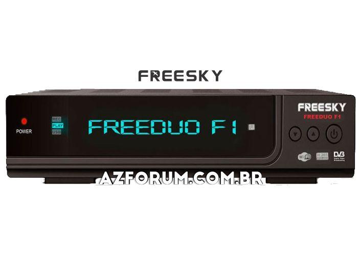 Atualização Freesky Freeduo F1 V2.60 - 19/08/2020