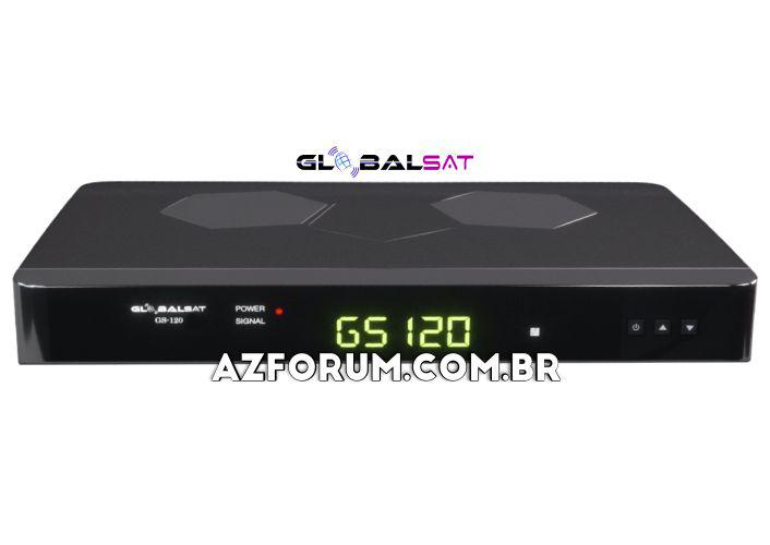 Atualização Globalsat GS 120 V2.61 - 19/08/2020