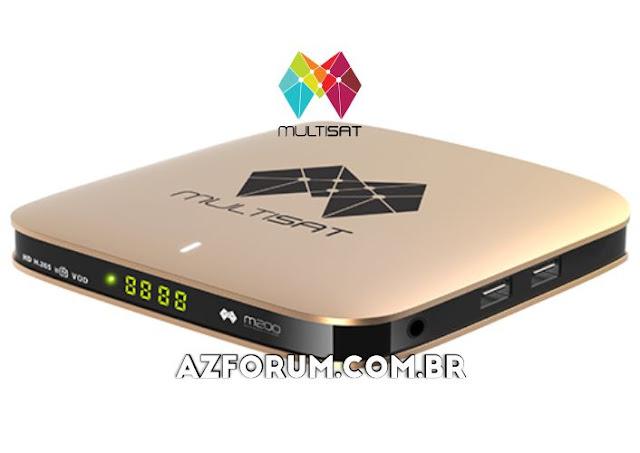 Atualização Multisat M200 V2.88 - 18/09/2021