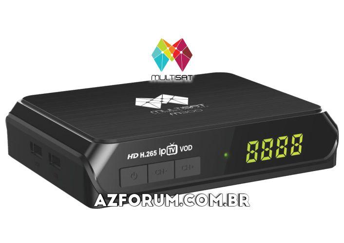 Atualização Multisat M300 V2.66 - 10/08/2020