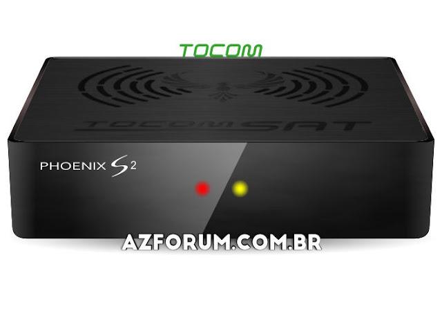 Atualização Tocomsat Phoenix S 2 V1.08 - 06/08/2020
