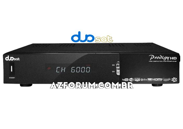 Atualização Duosat Prodigy HD V13.1 - 04/08/2020