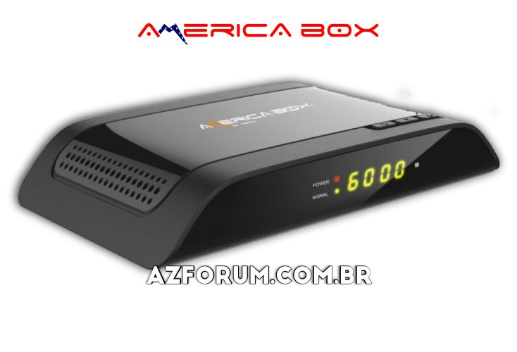 Atualização Americabox S105 HD V2.49 - 26/08/2020