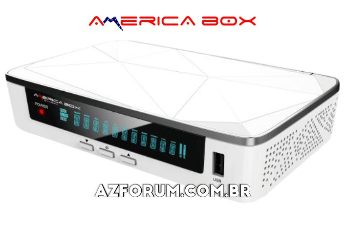 Atualização Americabox S205 + Plus V1.43 / V1.48 - 26/08/2020