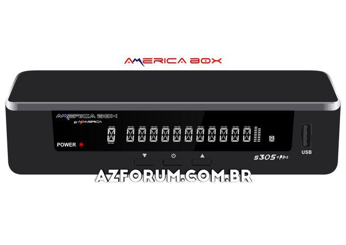 Atualização Americabox S305 Plus V1.21 - 26/08/2020