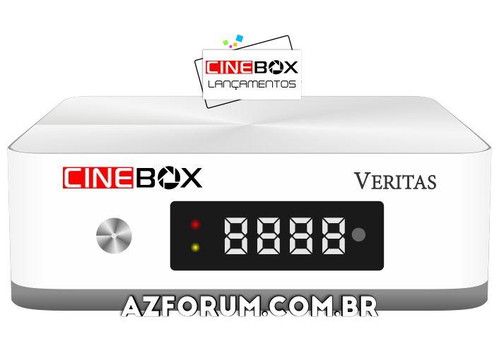 Lançamento Cinebox Veritas - Nova linha de receptores Linux