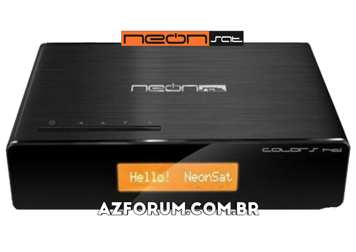 Atualização Neonsat Colors HD C100 - 24/08/2020