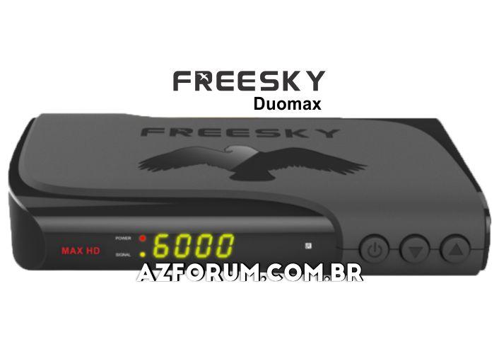 Atualização Freesky Max (Duomax) HD V2.61 - 19/08/2020