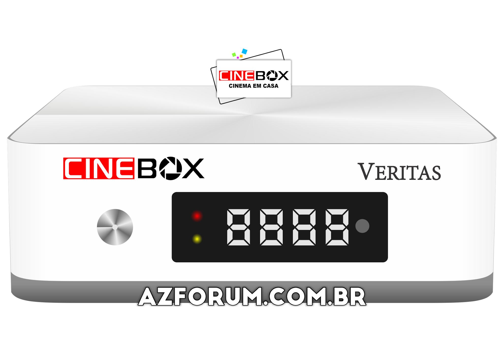 Primeira Atualização Cinebox Veritas V0.73.0 - 07/09/2020