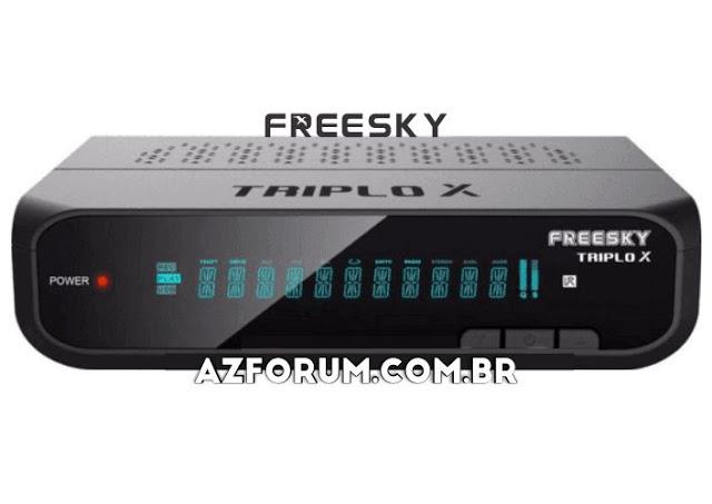 Atualização Freesky Triplo X V1.09.22137 - 08/09/2020