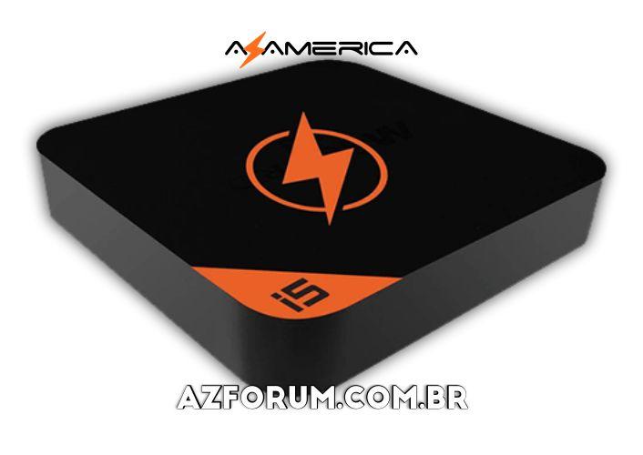 Atualização Azamerica i5 Streaming V1.2.16 - 29/11/2020