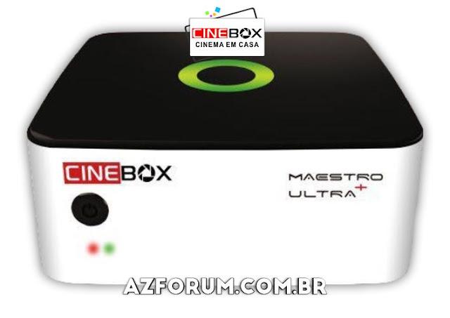 Atualização Cinebox Maestro Ultra + Plus V1.61.0 - 03/11/2020