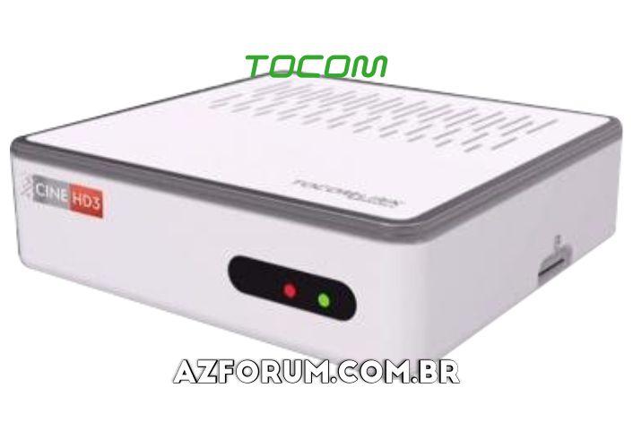 Atualização Tocomlink Cine HD 3 V2.08 - 28/12/2020