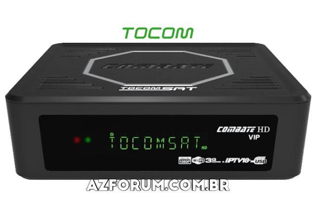 Atualização Tocomsat Combate HD VIP V2.07 - 28/12/2020
